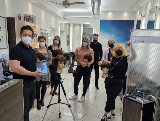 Haarschnitt-Trends bei Domino Friseur: Impressionen aus unserem exklusiven Salontraining